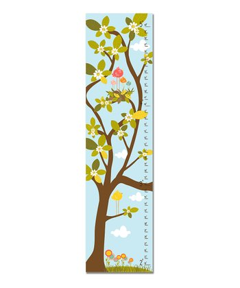 Blue Nest in Tree Growth Chart