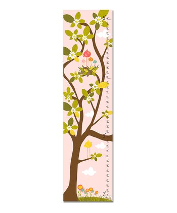 Pink Nest in Tree Growth Chart