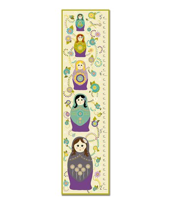 Purple Nesting Dolls Growth Chart