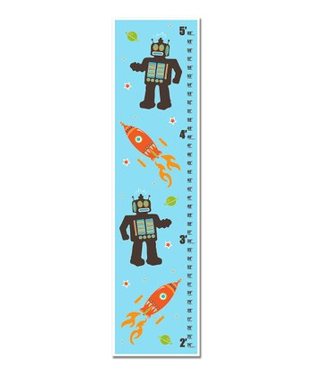 Aqua Robots & Rockets Growth Chart