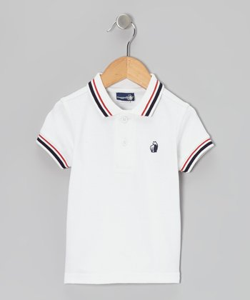 White Polo - Infant & Toddler