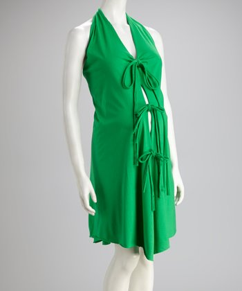 Green Delivery Gown