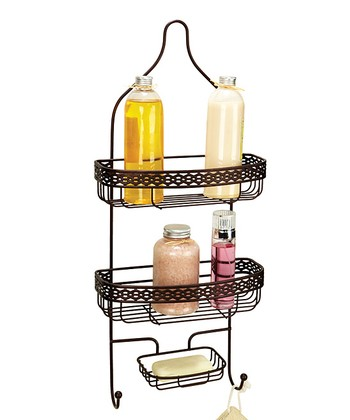Rust Link Shower Caddy
