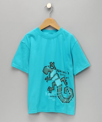 Turquoise Gecko Tee - Infant, Toddler & Boys