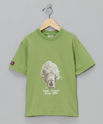 Green Rhino Tee - Infant & Toddler