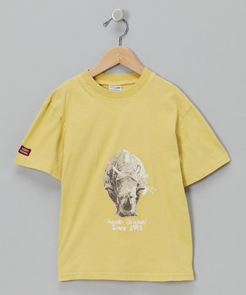 Yellow Rhino Tee - Toddler & Boys