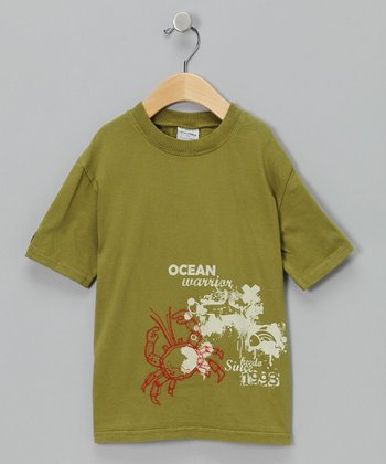 Green Crab Tee - Toddler & Boys