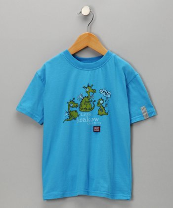 Cobalt Little Krakow Dragon Tee