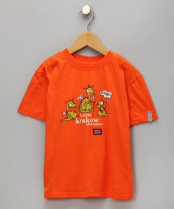 Flame Little Krakow Dragon Tee - Infant & Toddler
