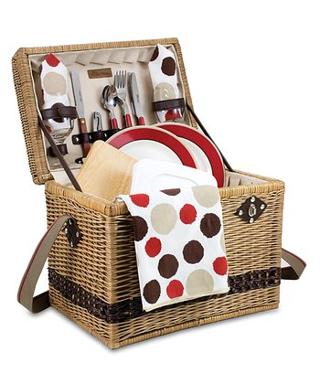 Yellowstone Moka Picnic Basket Set