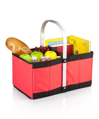 Red Collapsible Urban Basket