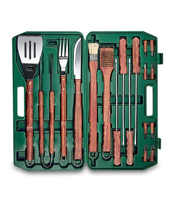 Hunter Green Barbecue Set