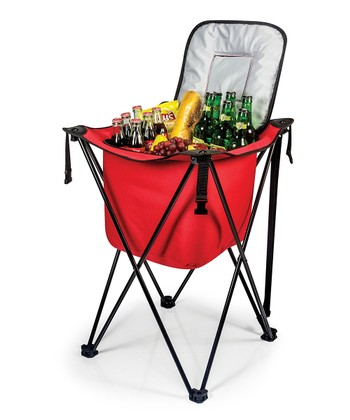 Red Sidekick Cooler Stand