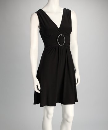 Black Banded Dress