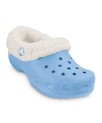 Light Blue & Oatmeal Mammoth Clog