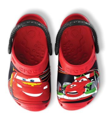 Red & Black Cars 2™ Clog - Kids