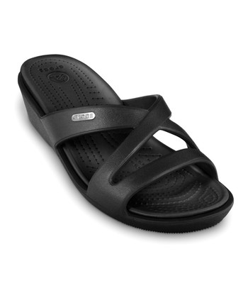 Black Patricia II Slide - Women