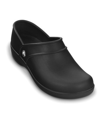 Black Neria Work Slip-On Shoe - Women