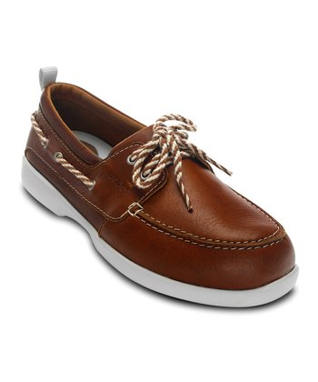 Cocoa & Stucco Above Deck Boat Shoe - Women