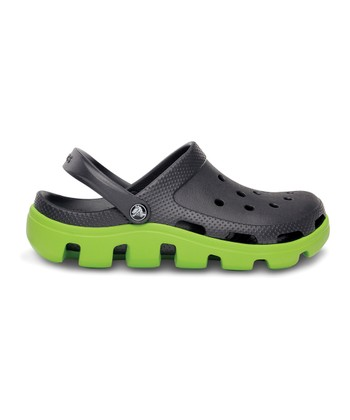 Graphite & Volt Green Duet Sport Clog - Women & Men