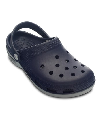 Navy & Light Gray Duet Plus Clog - Women & Men