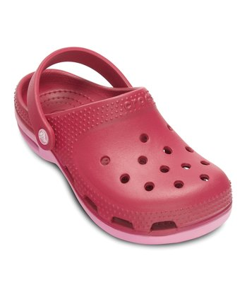 Raspberry & Pink Lemonade Duet Plus Clog - Kids