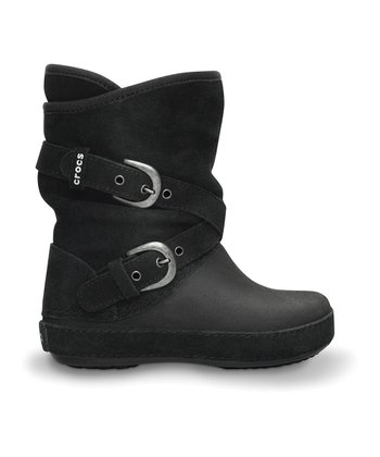 Black Berryessa Buckle Boot
