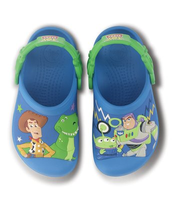 Ocean & Lime Toy Story Clog - Kids