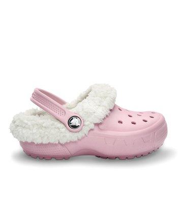 Crocs Petal Pink & Oatmeal Mammoth EVO Clog
