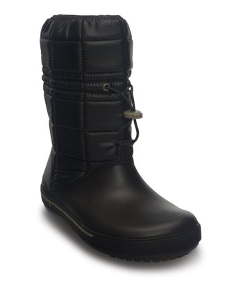 Espresso & Khaki Crocband II.5 Winter Boot - Women