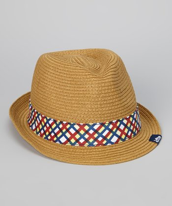 Natural Straw Fedora - Women & Men