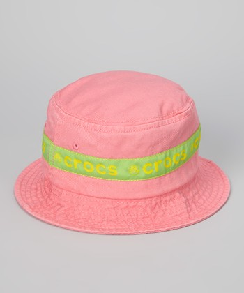 Pink Lemonade Jibbitz Bucket Hat - Kids