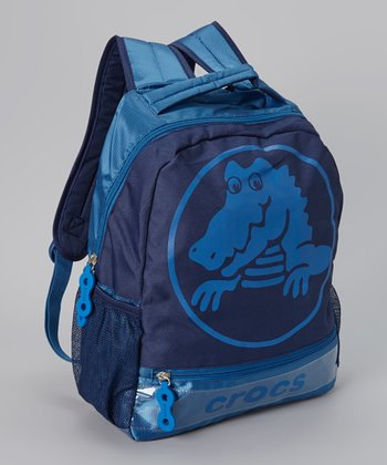Navy & Sea Blue Duke Backpack