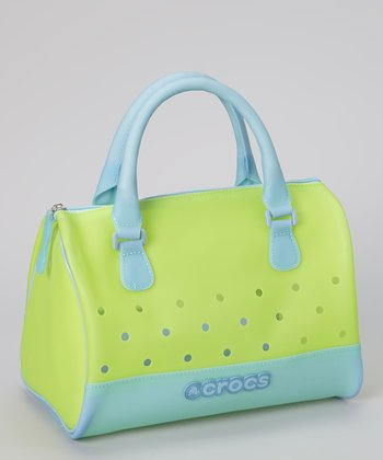 Green Translucent Jelly Satchel