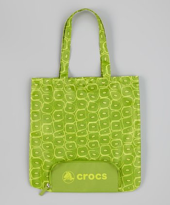 Green Foldable Tote