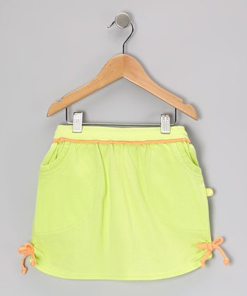 Celery & Cantaloupe Jersey Skirt - Toddler & Girls