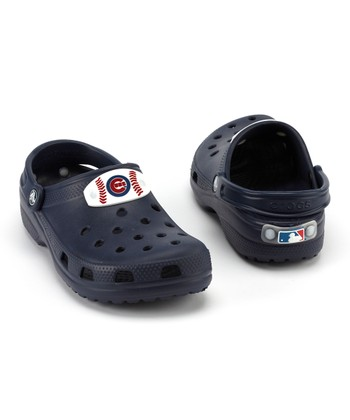 Navy Chicago Cubs Clog