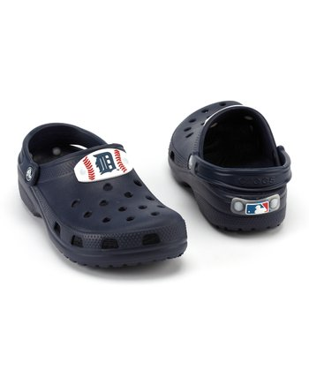 Navy Detroit Tigers Clog