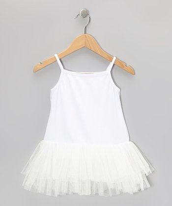 White Tutu Tunic - Toddler