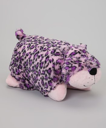 Pink Leopard Pillow Pet