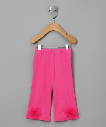 Fuchsia Dream Baby Pants - Infant