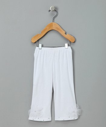 White Dream Baby Pants -  Infant & Toddler