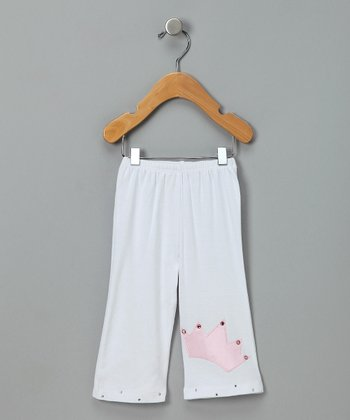 White Royal Baby Pants - Infant