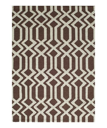 Brown Loop Rug