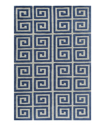 Denim Column Area Rug