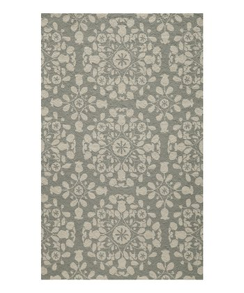 Gray Monique Wool Rug