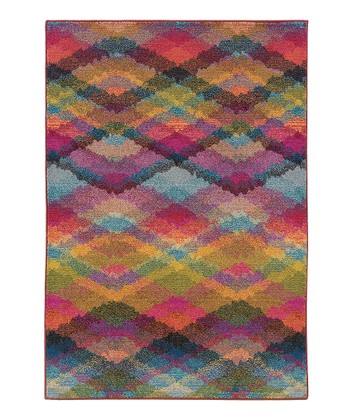 Rainbow Prismatic Spectrum Rug