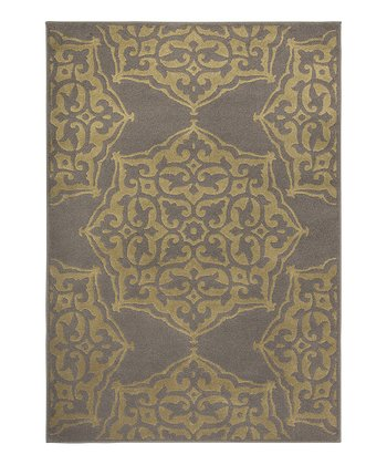 Gray Arabesque Servaline Rug