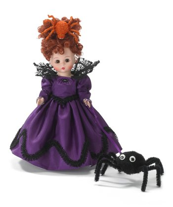 Queen of the Spiders Wendy Doll & Spider