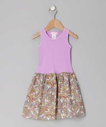 Lavender Liberty Dress - Infant, Toddler & Girls